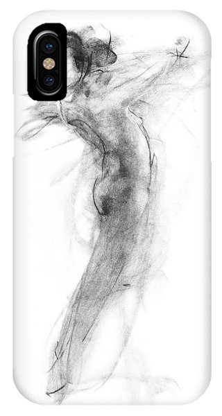 Girl In Movement IPhone Case
