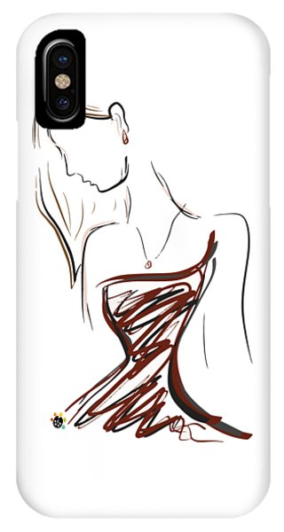 Girl In Red IPhone Case