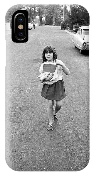 Girl On 13th Street, 1971 IPhone Case