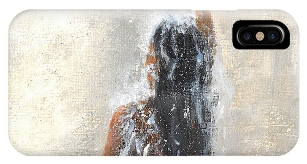 Girl Showering IPhone Case