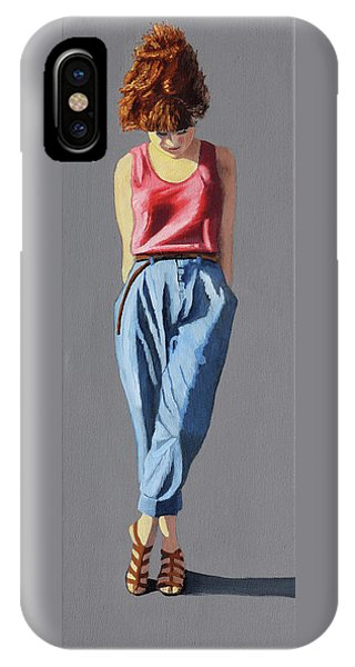 Girl Standing IPhone Case