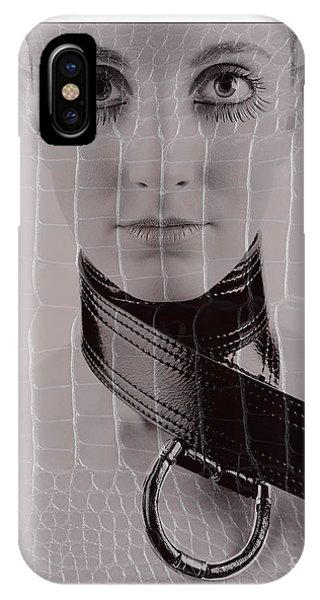 Girl With Big Eyes IPhone Case