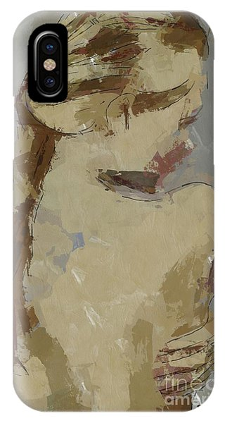 Girl With Plait IPhone Case