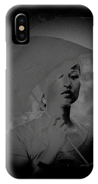 Girl With Umbrella IPhone Case