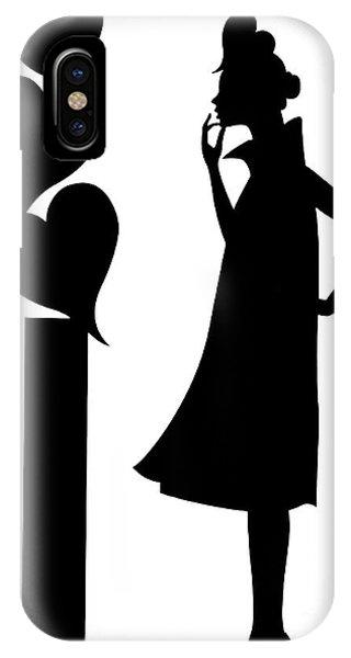 Girl_02 IPhone Case