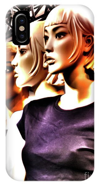 Girls_09 IPhone Case