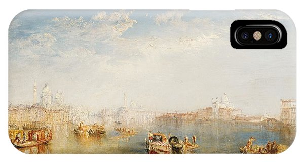 Boats iPhone Case - Giudecca La Donna Della Salute And San Giorgio  by Joseph Mallord William Turner