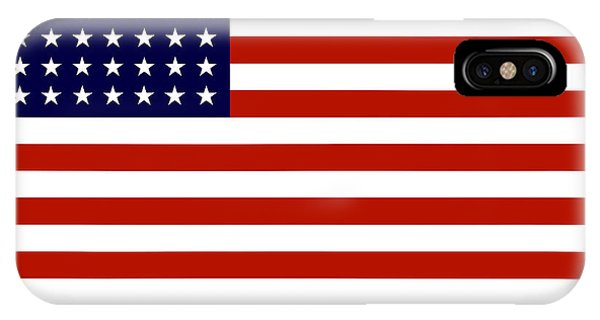 American iPhone Case - Give It Your Best American Flag by War Is Hell Store