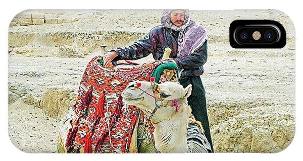 Giza Camel Taxi IPhone Case