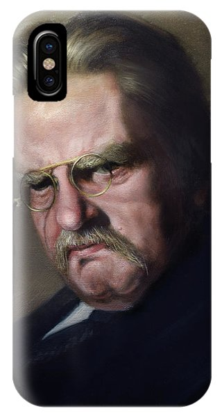G.k. Chesterton Phone Case by Eric  Armusik