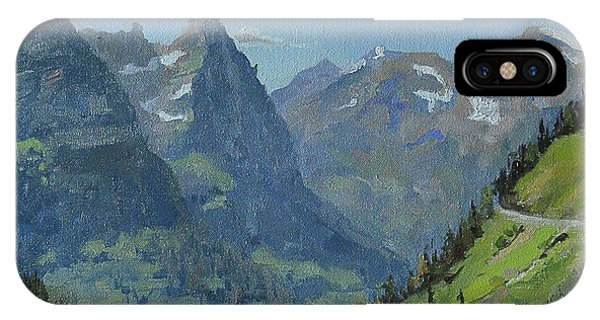 Glacier Afternoon IPhone Case