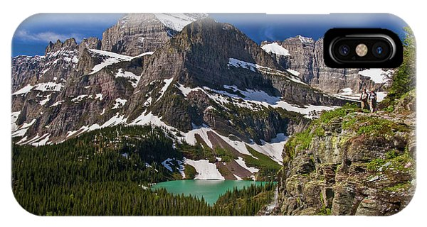 IPhone Case featuring the photograph Glacier Backcountry 2 by Gary Lengyel