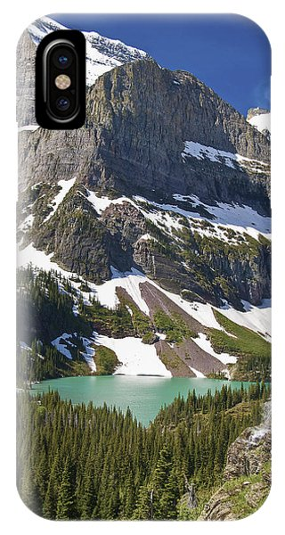 IPhone Case featuring the photograph Glacier Backcountry by Gary Lengyel