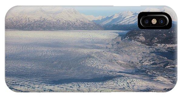 Glacier In Alaska IPhone Case