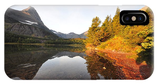 Glacier National Park IPhone Case