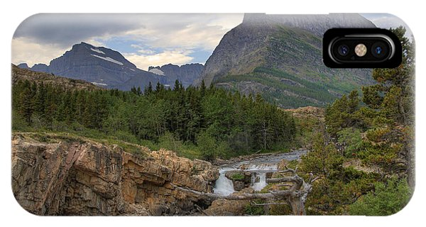 Glacier National Park Landscape IPhone Case
