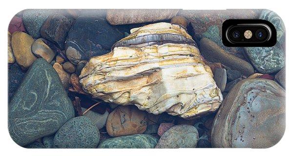 Glacier Park Creek Stones Submerged IPhone Case