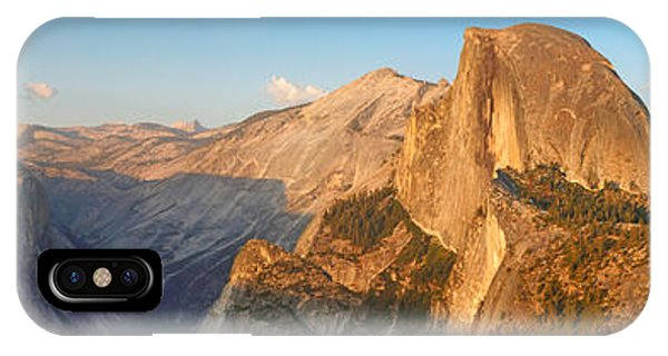 Glacier Point Panorama IPhone Case