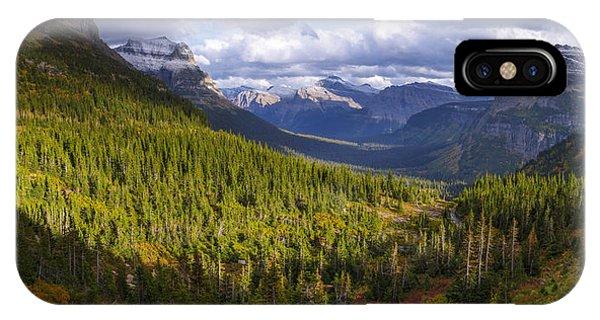 Storm iPhone Case - Glacier Storm by Chad Dutson