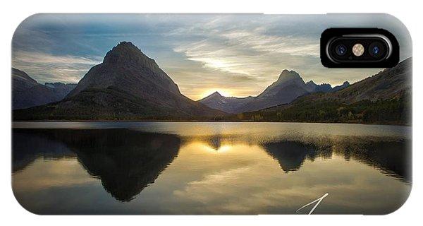 Glacier Sunset IPhone Case