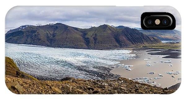 IPhone Case featuring the photograph Glacier View by James Billings