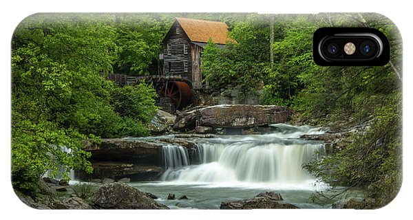 Glade Creek Grist Mill In May IPhone Case