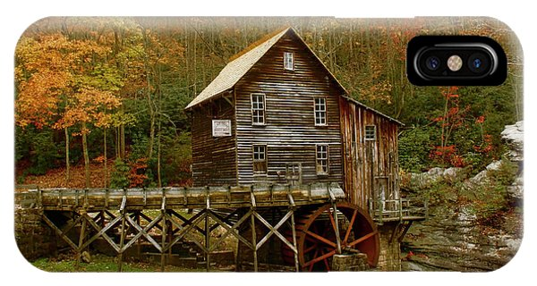 IPhone Case featuring the photograph Glade Grist Mill by Ola Allen