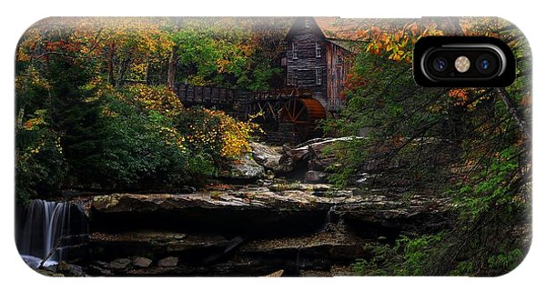 Glades Creek Grist Mill West Virginia IPhone Case