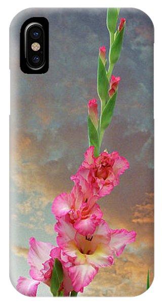 iPhone Case - Gladiola Sunset by Ron Morecraft