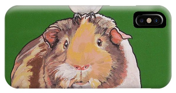 Gladys The Guinea Pig IPhone Case
