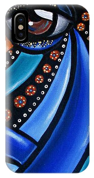 Abstract Eye Art Acrylic Eye Painting Surreal Colorful Chromatic Artwork IPhone Case