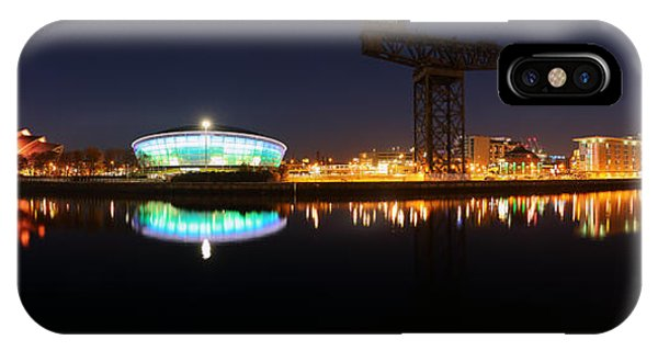 Glasgow Clyde Panorama IPhone Case