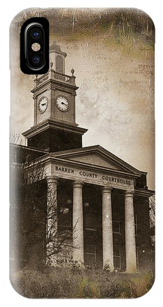Glasgow Ky Courthouse IPhone Case