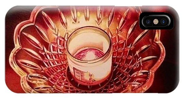 David Hoque iPhone Case - Glass Ember by David Hoque