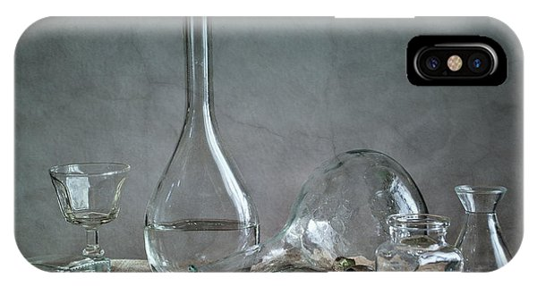 Reflection iPhone Case - Glass by Nailia Schwarz