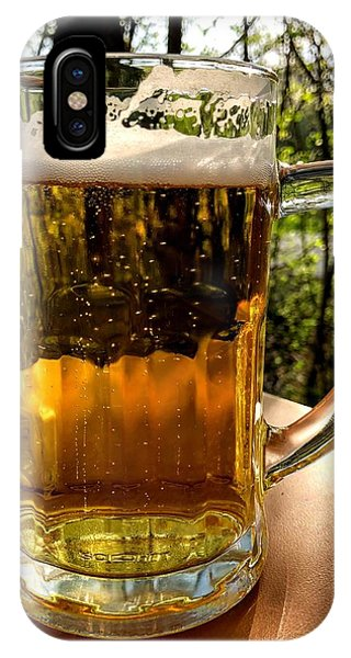 Food And Beverage iPhone Case - Glass Of Beer by Matthias Hauser