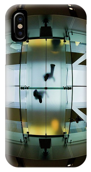 Glass Walkway Apple Store Stockton Street San Francisco IPhone Case