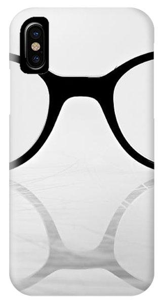 Glasses #8669 IPhone Case