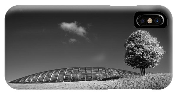 Glasshouse At The National Botanic Gardens, Wales IPhone Case