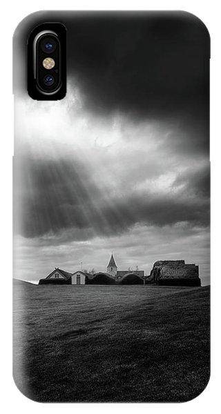Village iPhone Case - Glaumbaer by Tor-Ivar Naess
