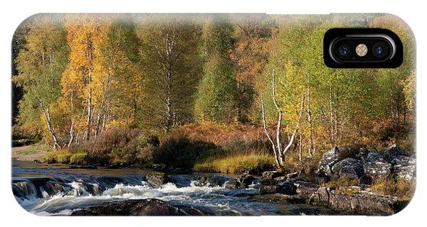 IPhone Case featuring the photograph Glen Affric In Autumn by Karen Van Der Zijden