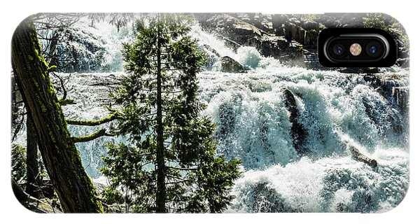 Glen Alpine Falls 1 IPhone Case