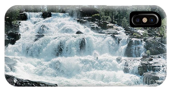 Glen Alpine Falls Mist IPhone Case