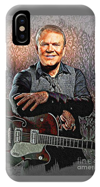 Glen Campbell - Singing Icon IPhone Case