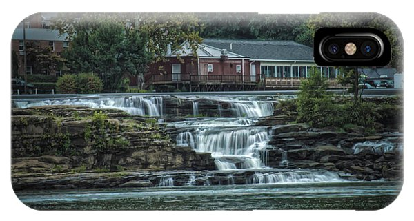 Glen Farris On The Falls IPhone Case
