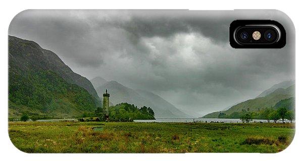 Glencoe, Scotland IPhone Case