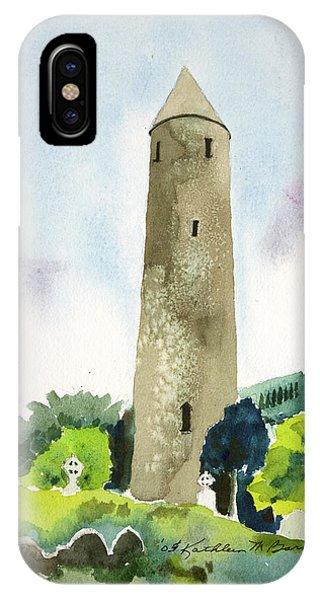 Glendalough Tower IPhone Case