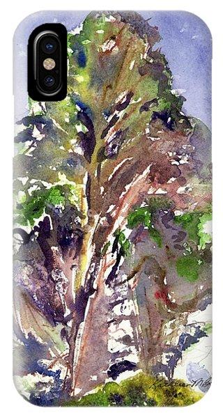 Glendalough Tree IPhone Case