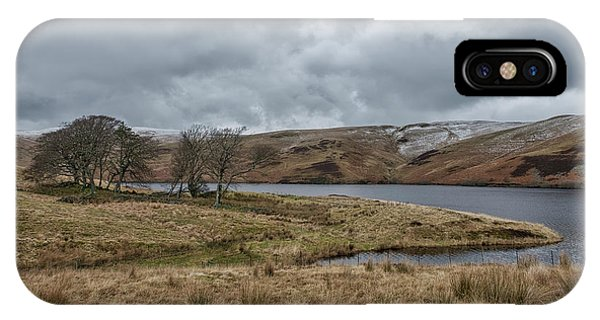 IPhone Case featuring the photograph Glendevon Reservoir In Scotland by Jeremy Lavender Photography