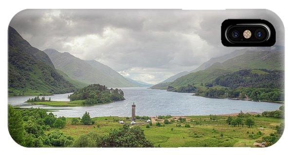 Glenfinnan Valley IPhone Case